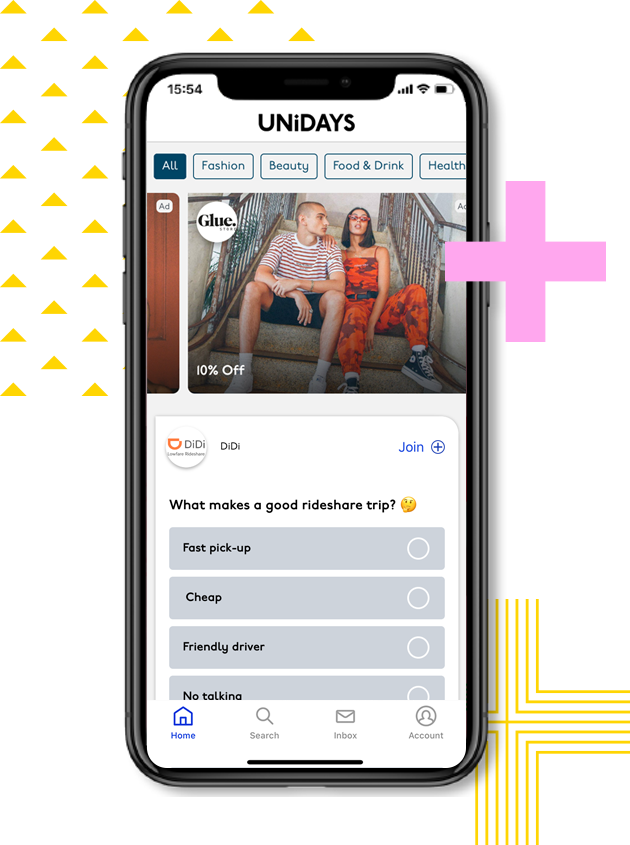 Image of UNiDAYS member