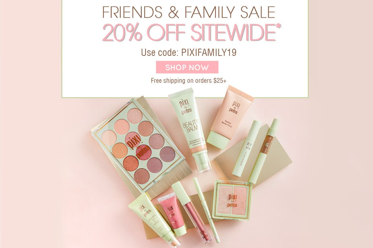 For a limited time, enjoy 20% off SITEWIDE* with code PIXIFAMILY19 at checkout