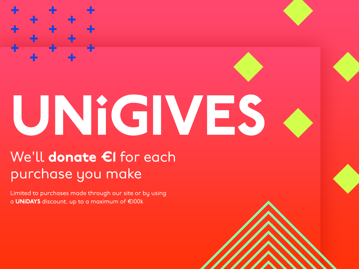 We're supporting UNiGIVES!