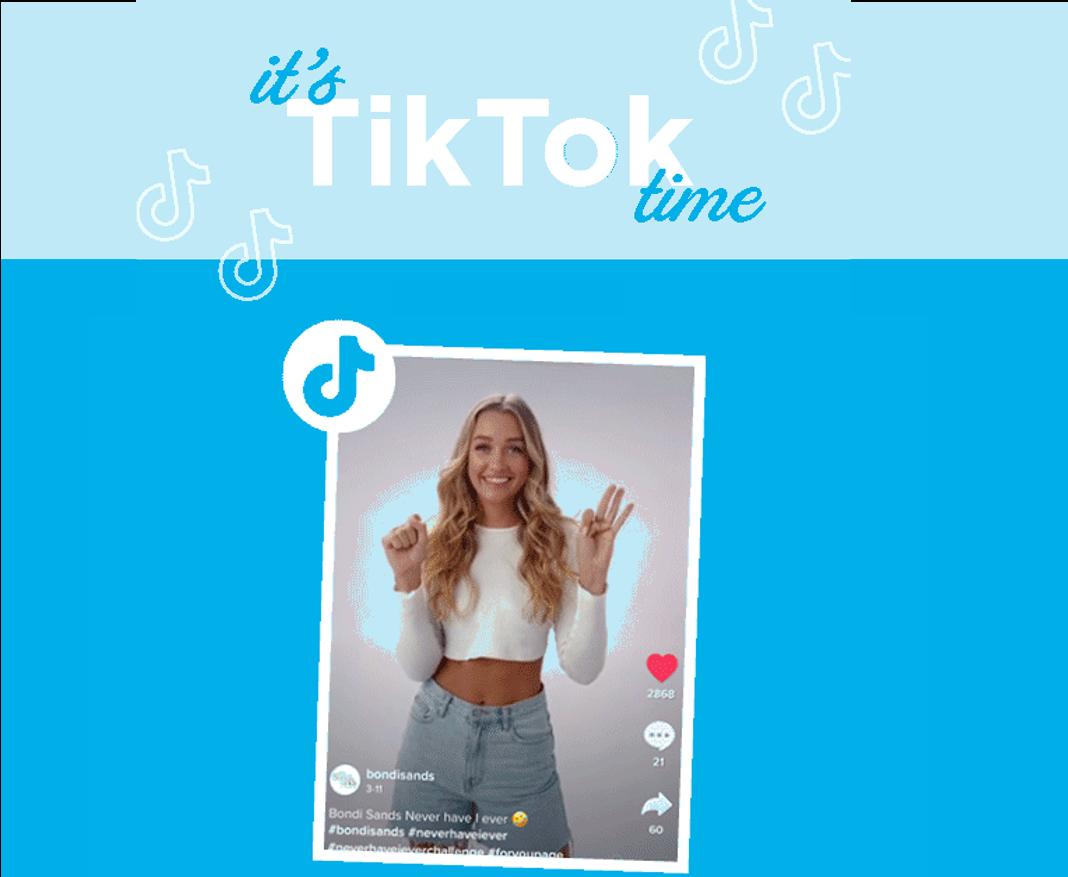 It's TikTok Time Lovers!