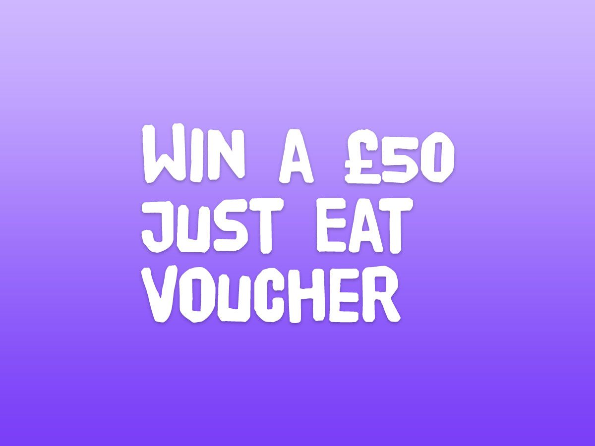 Win a £50 Just Eat Voucher!