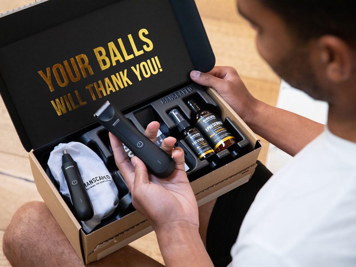 ⚡ really hairy balls