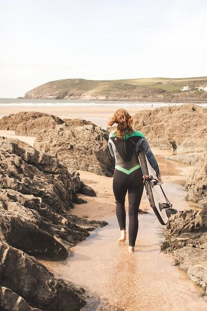 Devon Surf & Yoga Weekend