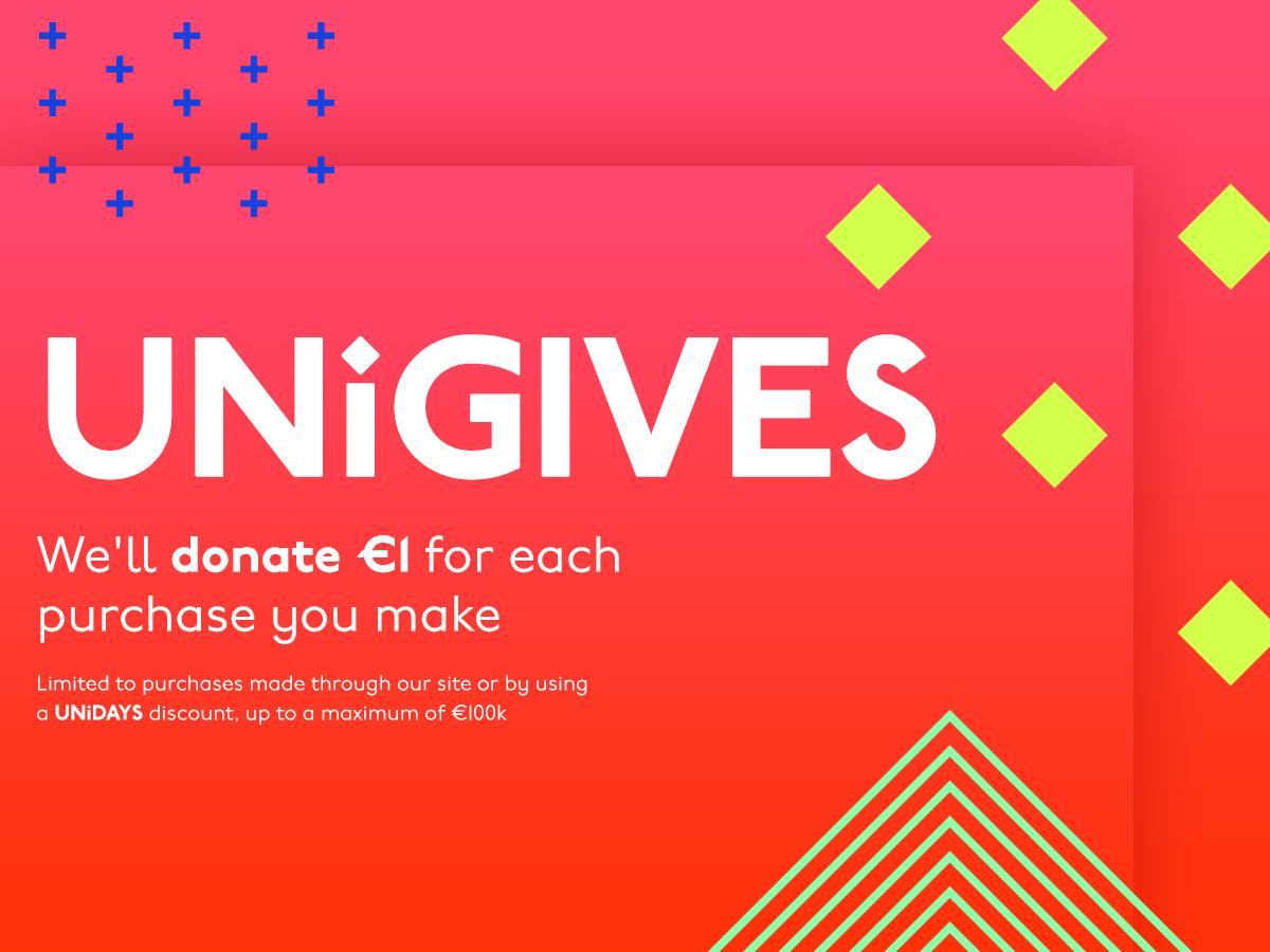 Help UNiGIVES to reach £100k