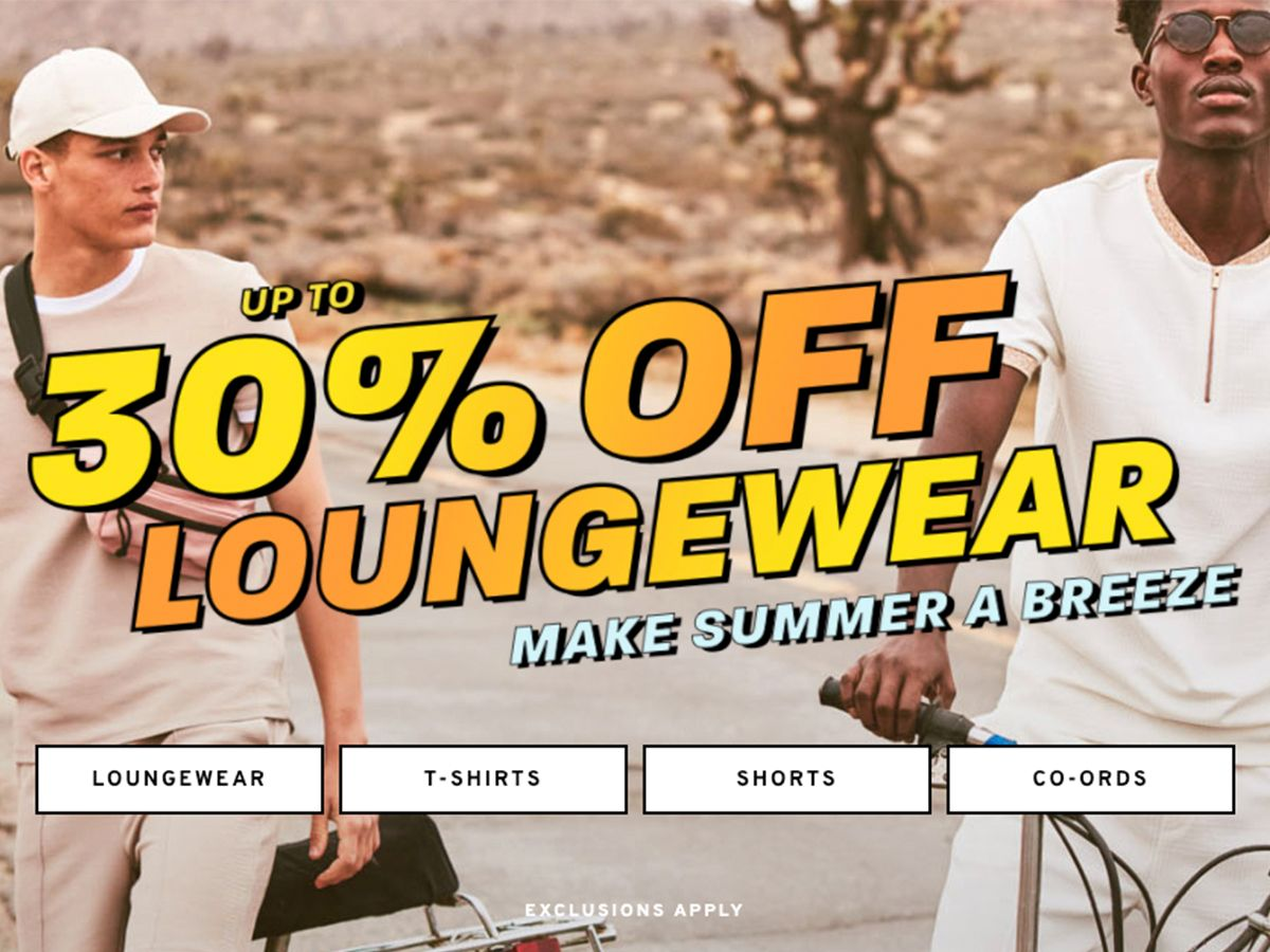 Up to 30% Off Loungewear