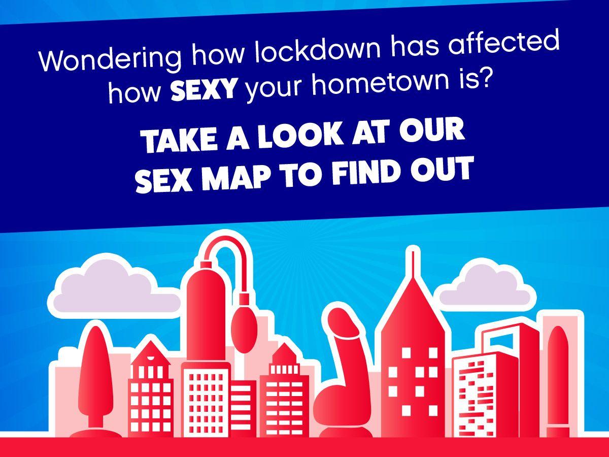 Lovehoney presents the UK Sex Map