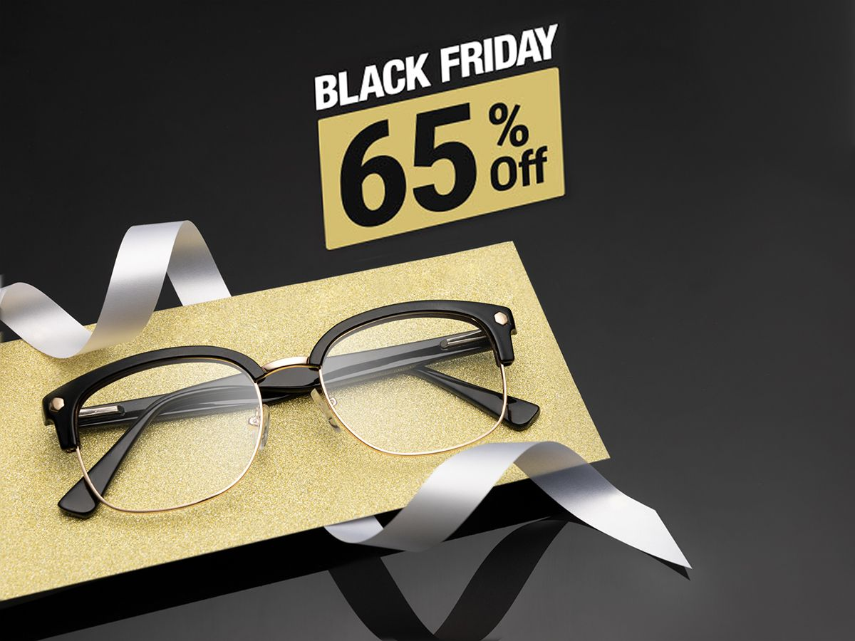 Black Friday - 65% Off Frames