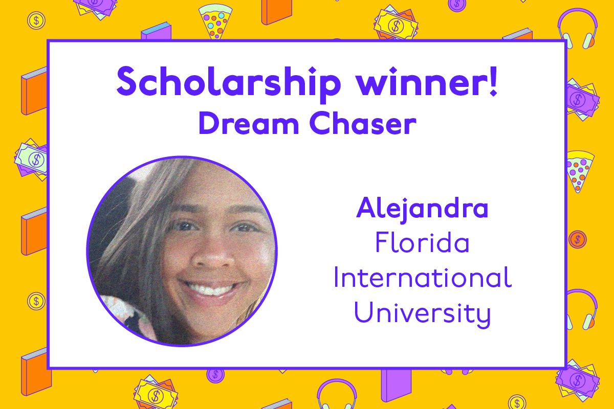 Congratulations to Alejandra 🎉