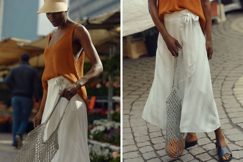 3 takes on the wrap skirt