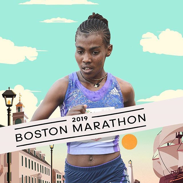 Congratulations to Worknesh Degefa, the 2019 Boston Marathon winner
