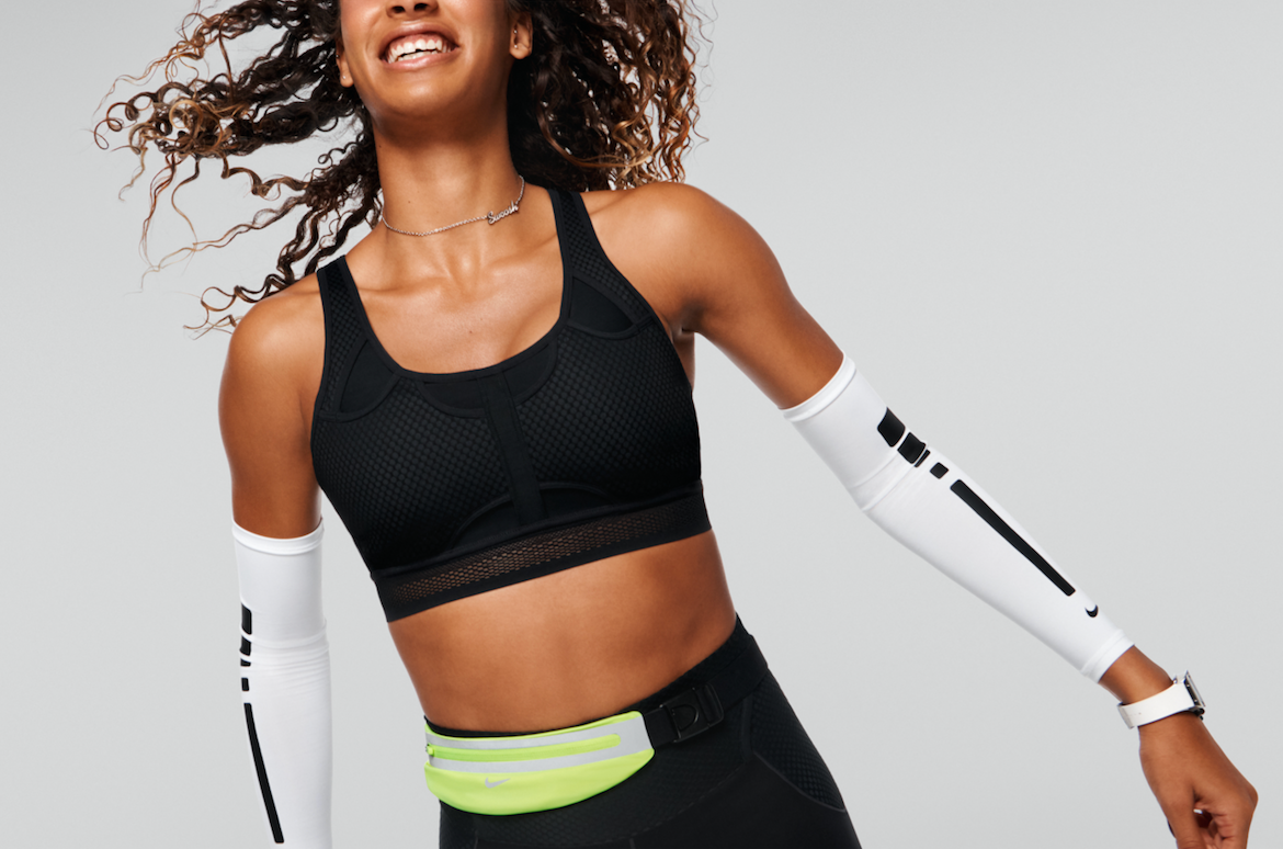 Nike Swoosh Bra - Four innovations. Zero problems.