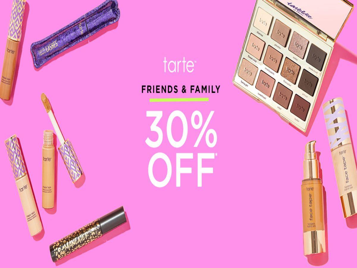 Tarte™ Friends & Family Sale!
