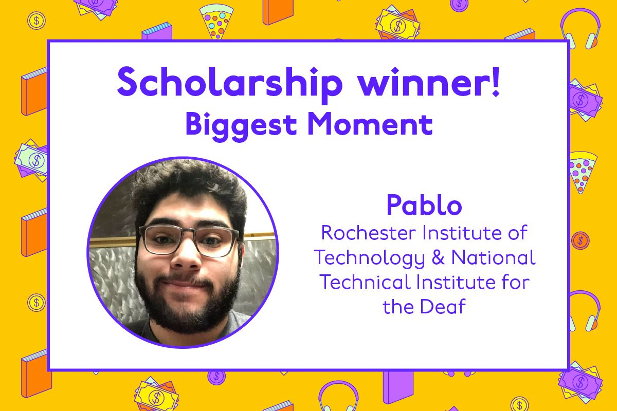 Congratulations to Pablo 🎉
