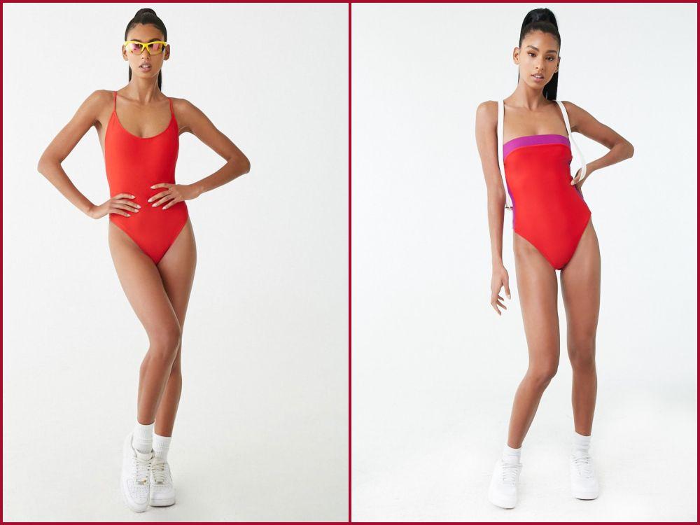 Sexy swimwear and vacation essentials