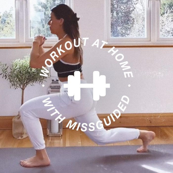How to work your legs + bum at home