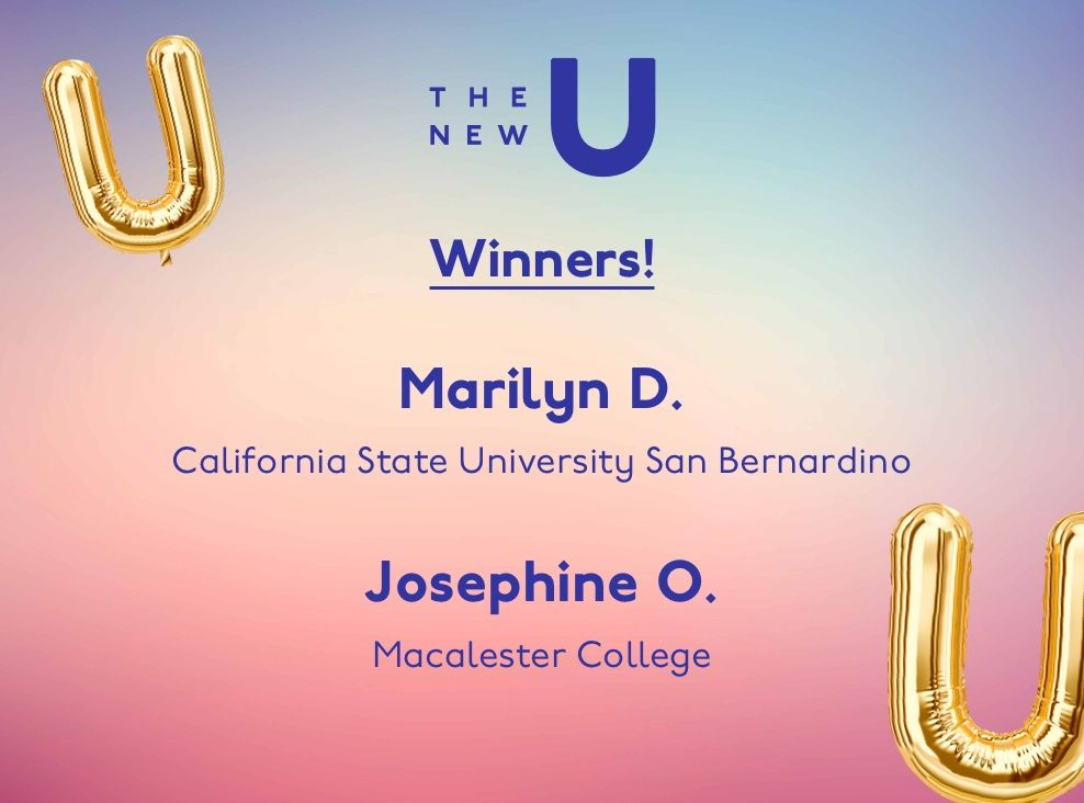 Congrats to Marilyn and Josephine