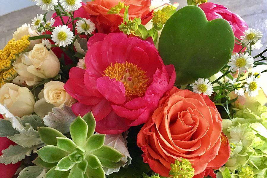 Succulents as flowers: DIY