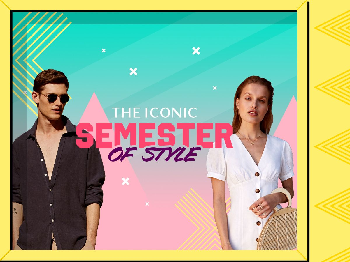 Here's a semester's worth of style with THE ICONIC