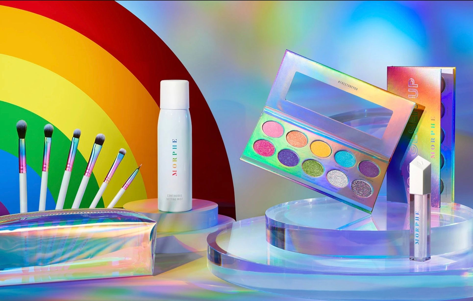 FREE TO BE YOU : Limited edition Pride 2020 Collection