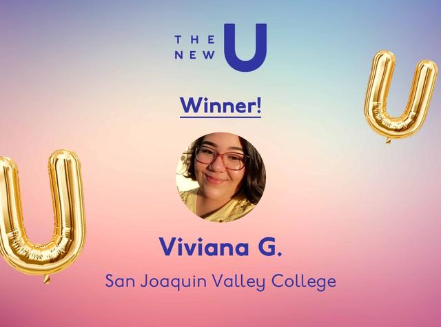 Congrats to Viviana