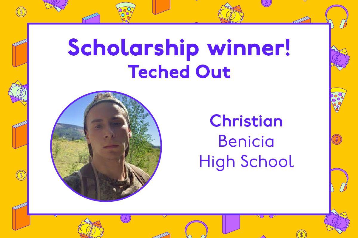 Congratulations to Christian 🎉
