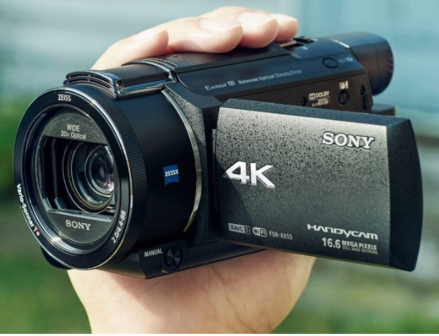 Take a look at the Sony's 4K Handycam