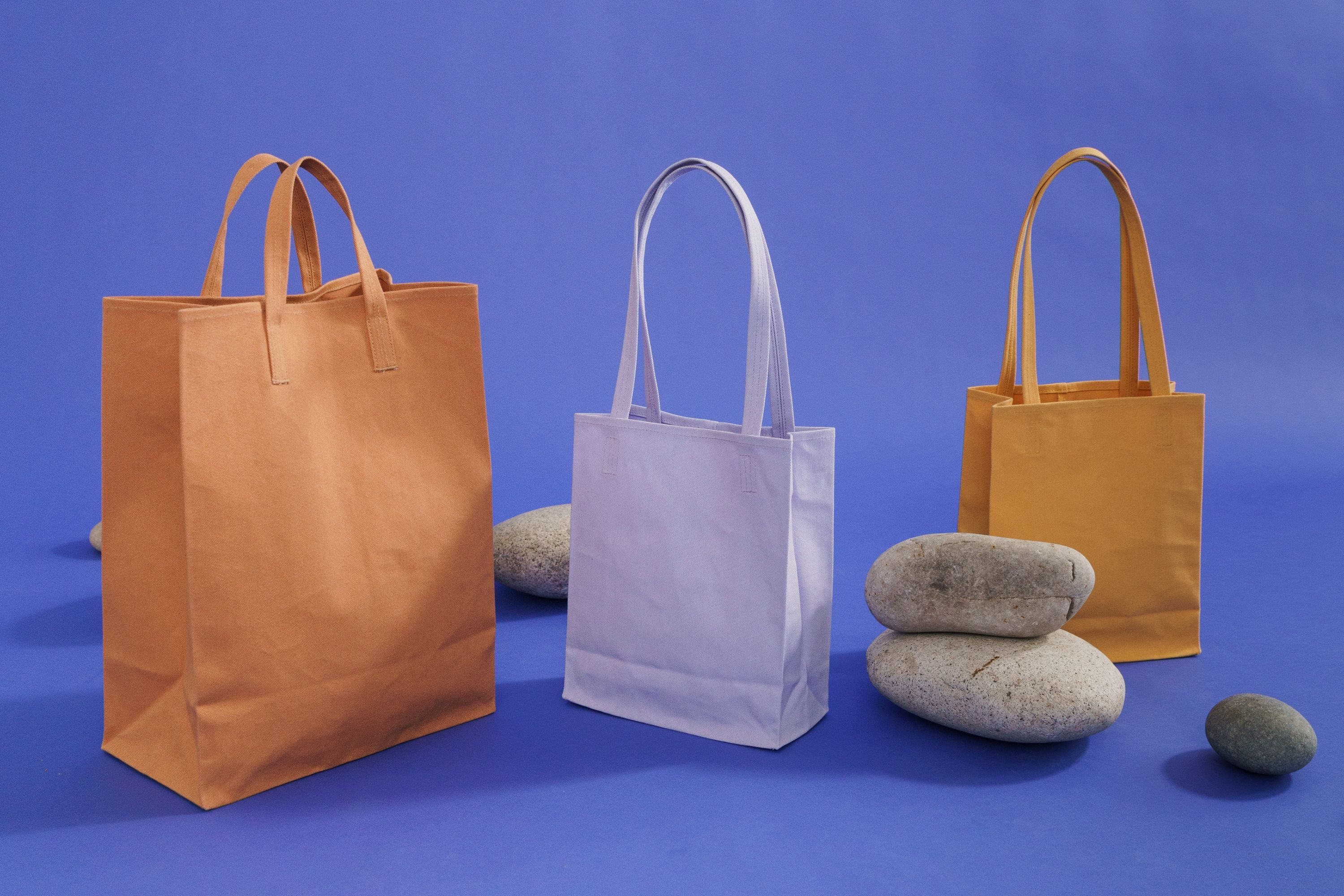 These totes were made for shopping.