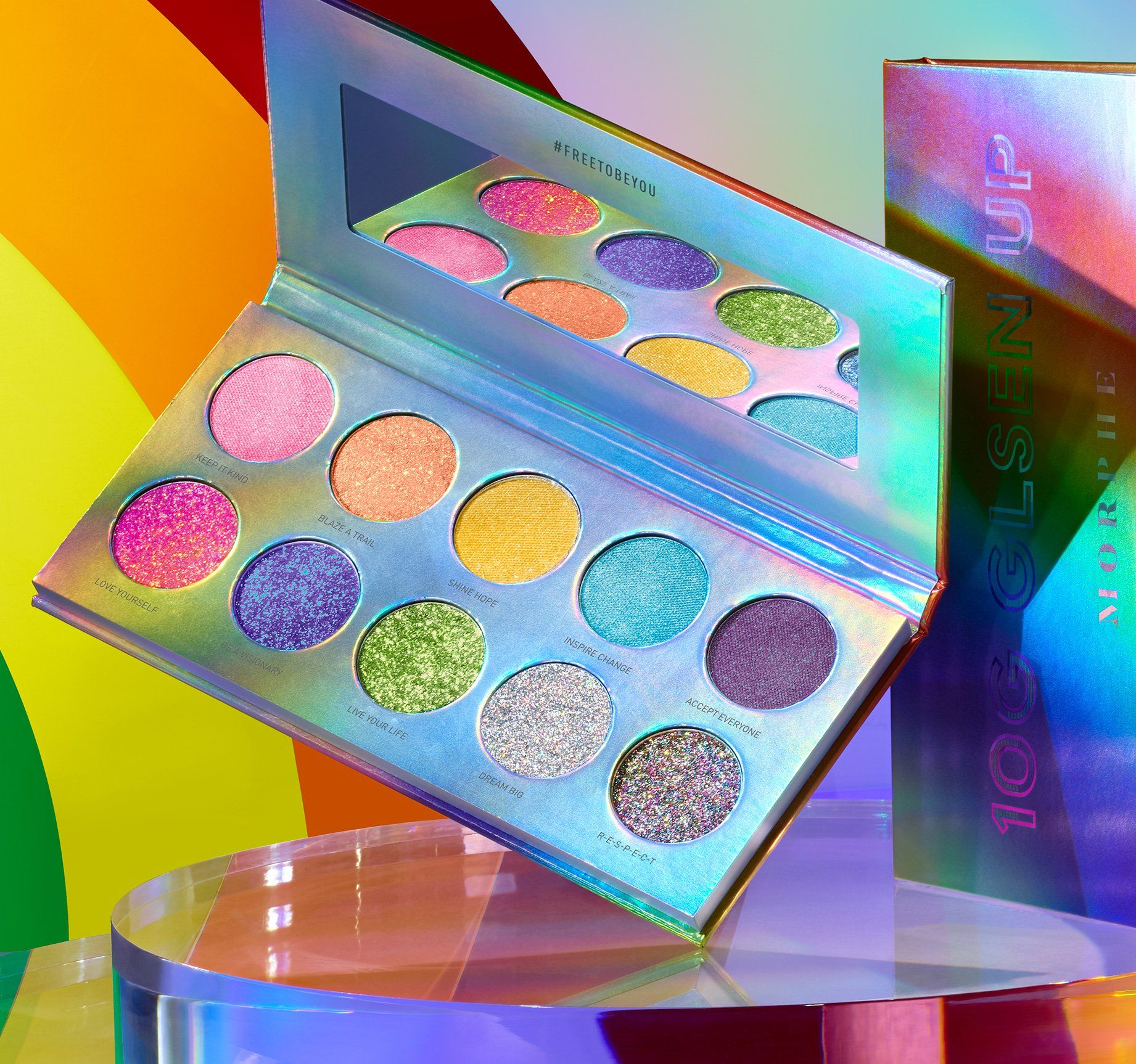 FREE TO BE YOU: GLSEN UP ARTISTRY PALETTE