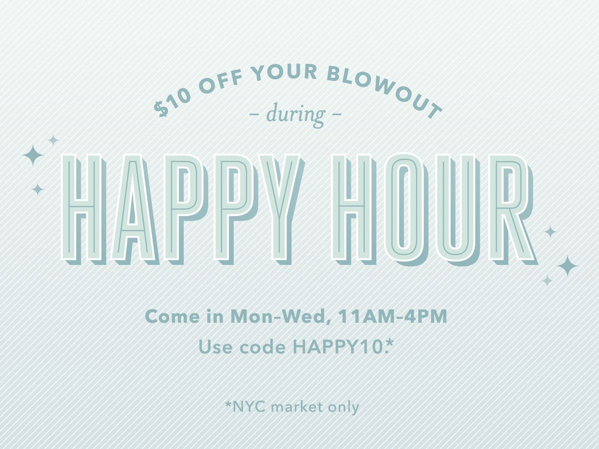 Join us for Happy Hour 💛