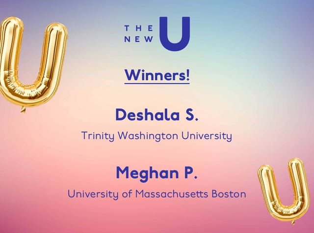 Congrats to Deshala and Meghan