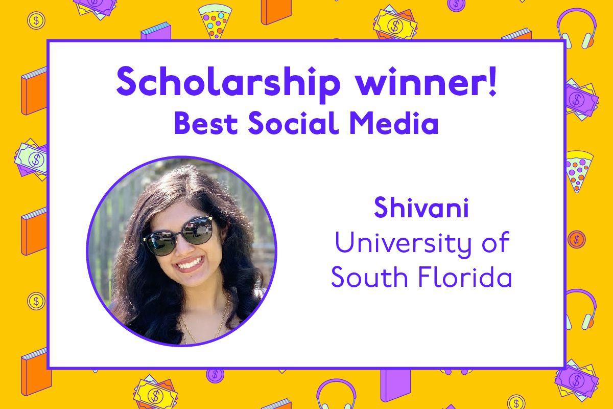 Congratulations to Shivani 🎉