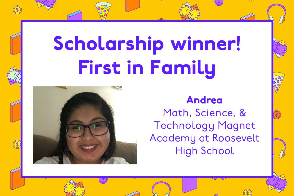 Congratulations to Andrea 🎉