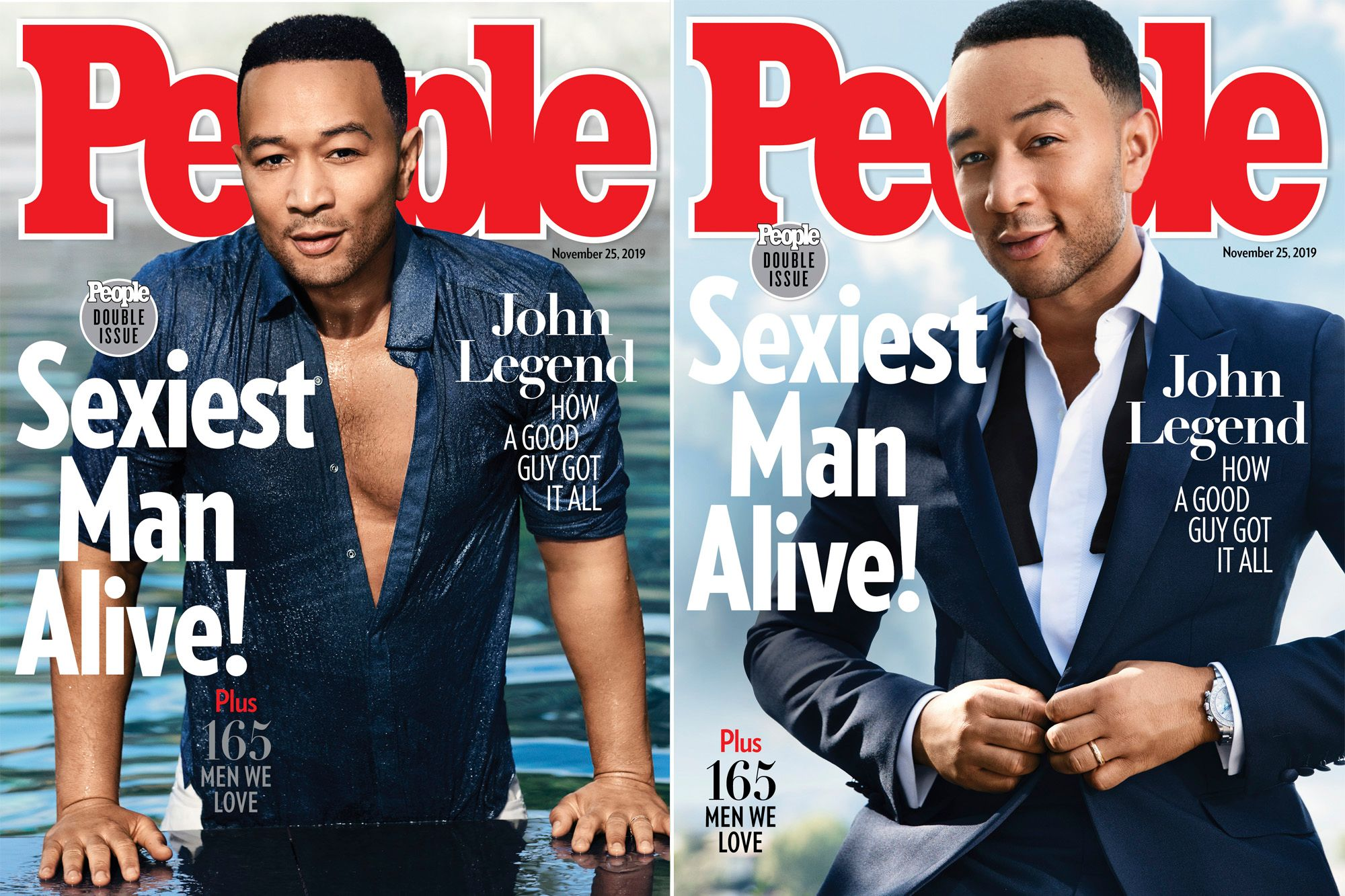 John Legend Is PEOPLE's Sexiest Man Alive 2019: