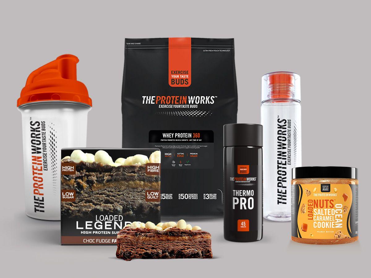 Gewinne 1 von 5 The Protein Works Paketen!