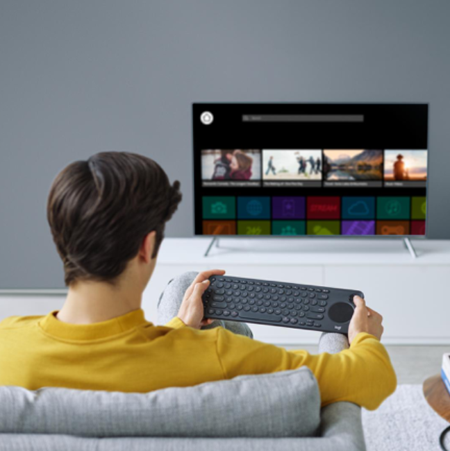 New Logitech K600 TV keyboard provides smarter control of your Smart TV