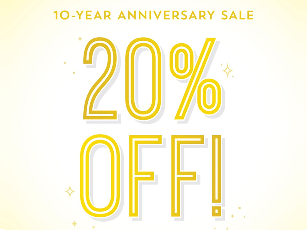 Celebrate 10 years of Drybar Magic with 20% off in-shop! 🛍️