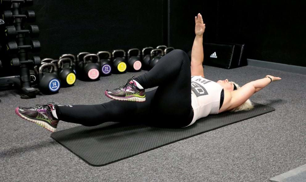 Melanie's Core Cruncher - All you need is a mat
