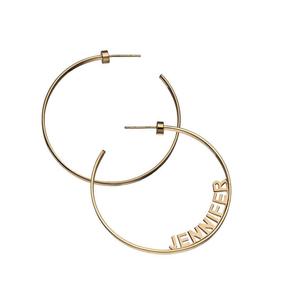 7 personalized earrings inspired by Jennifer Lopez's hoops