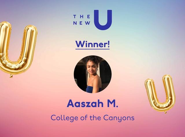 Congrats to Aaszah