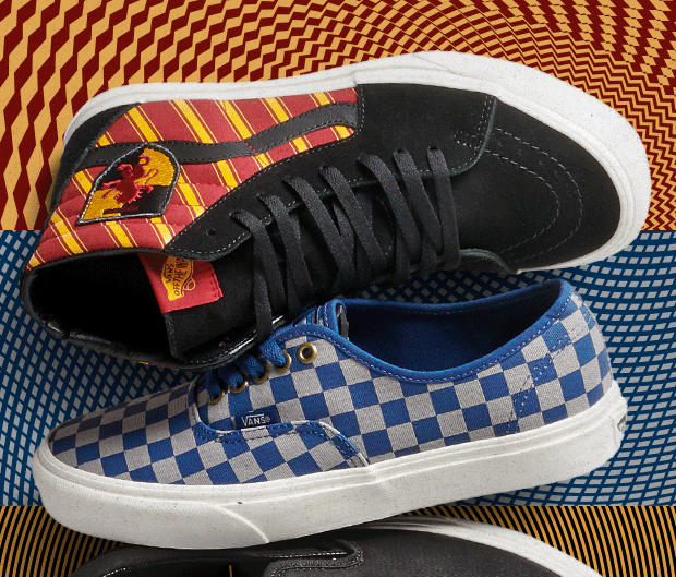 New Vans x Harry Potter Collection!