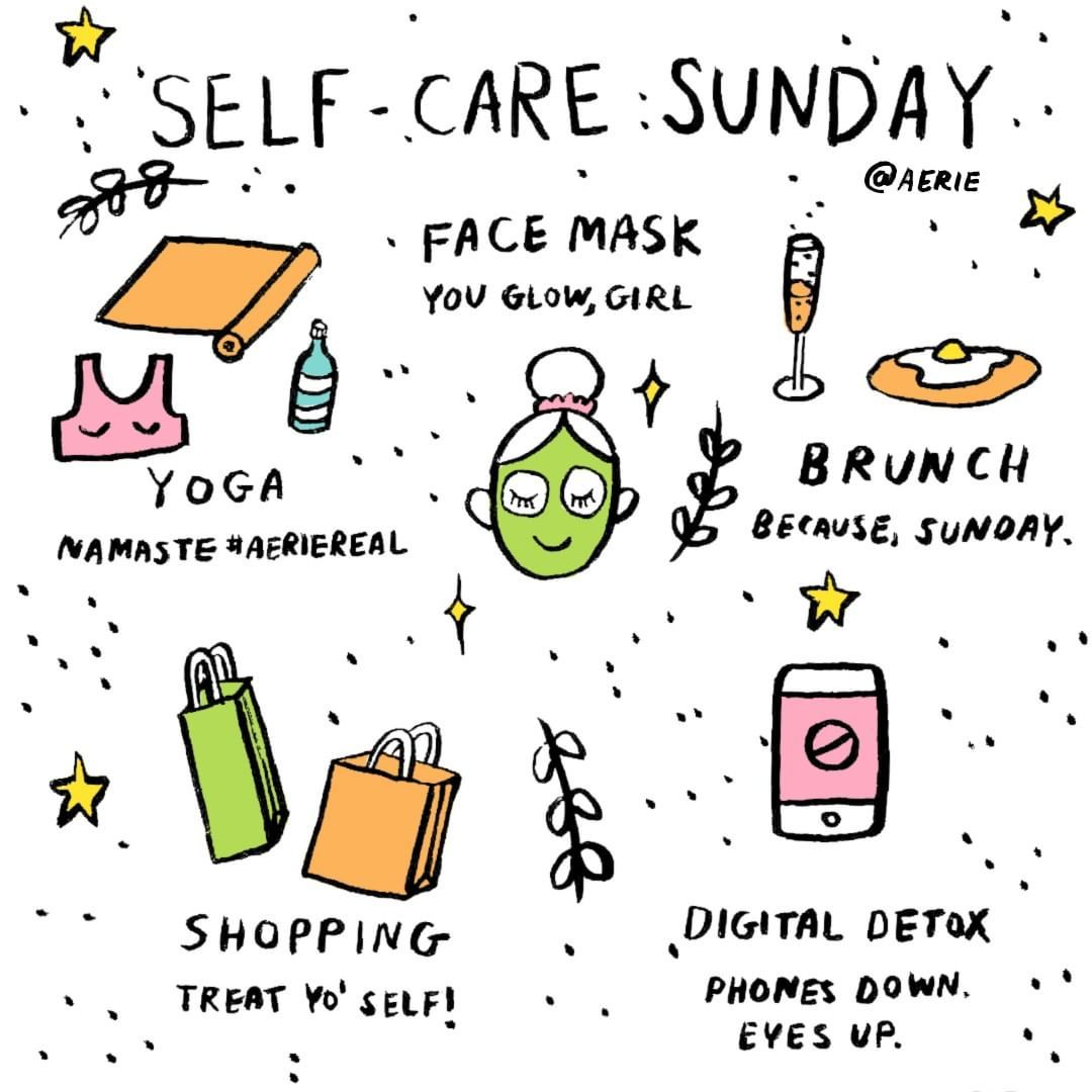 Happy self-care Sunday!