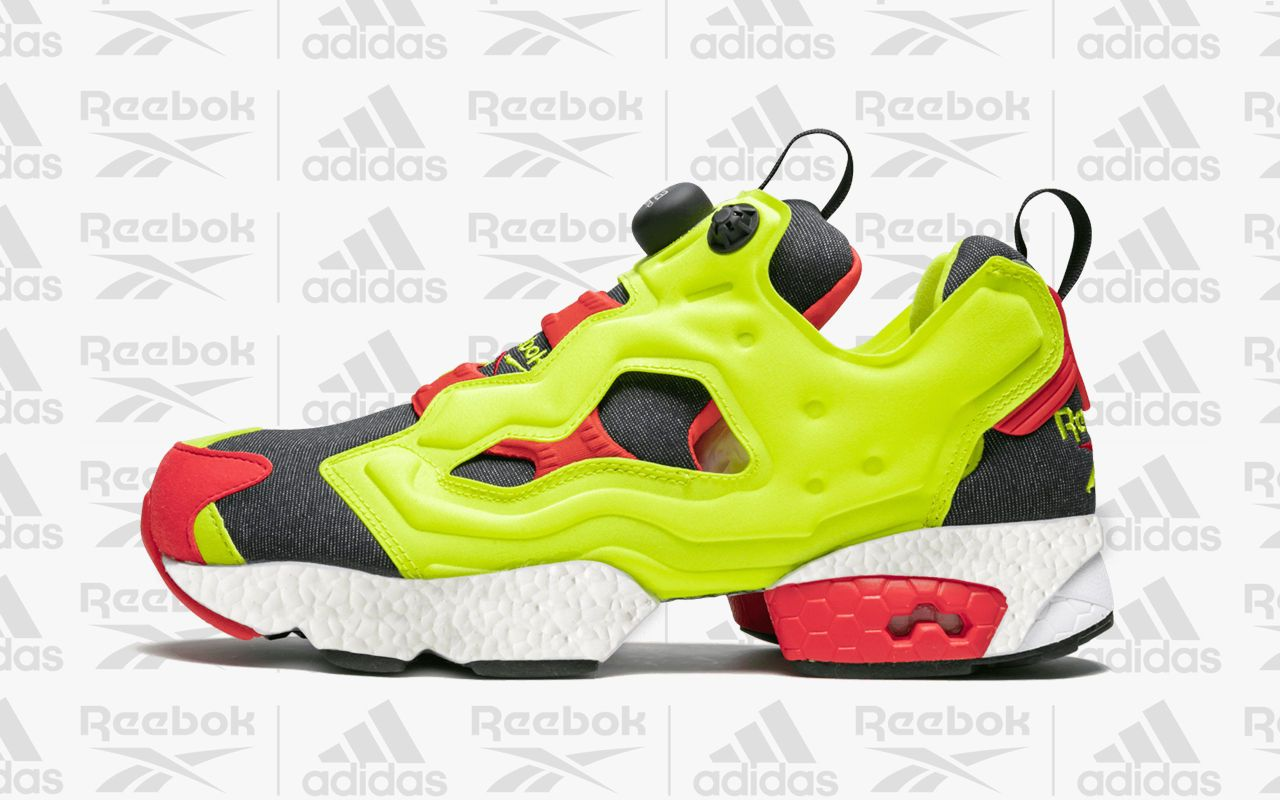 Reebok Partners with Adidas for Instapump Fury BOOST Crossover