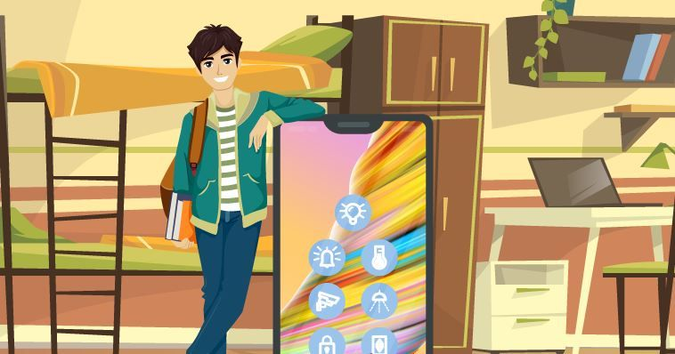 Back to School: Creating a Smart Dorm Room with Home Automation Devices