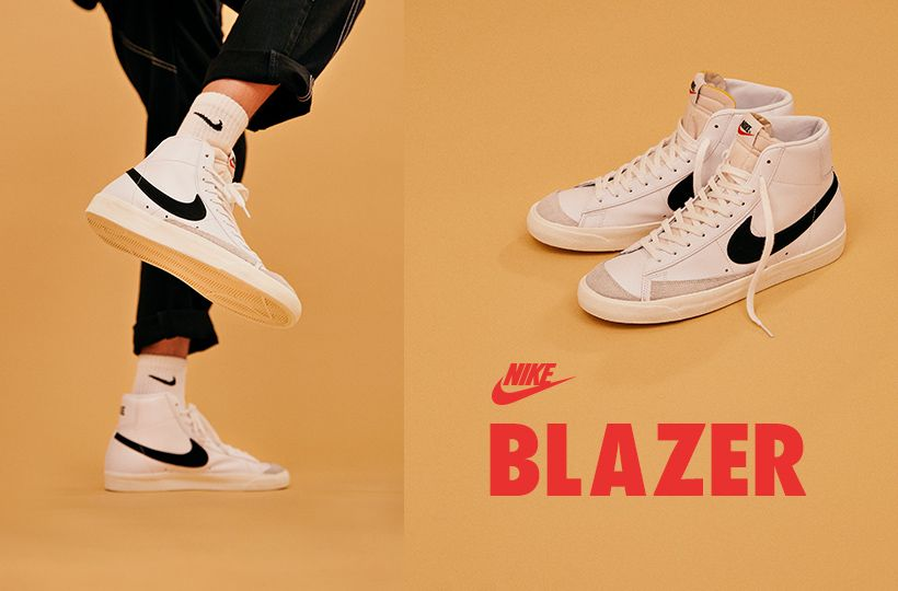 LAUNCH: NIKE BLAZER 🚨 One of the oldest silhouettes in Nike history is back