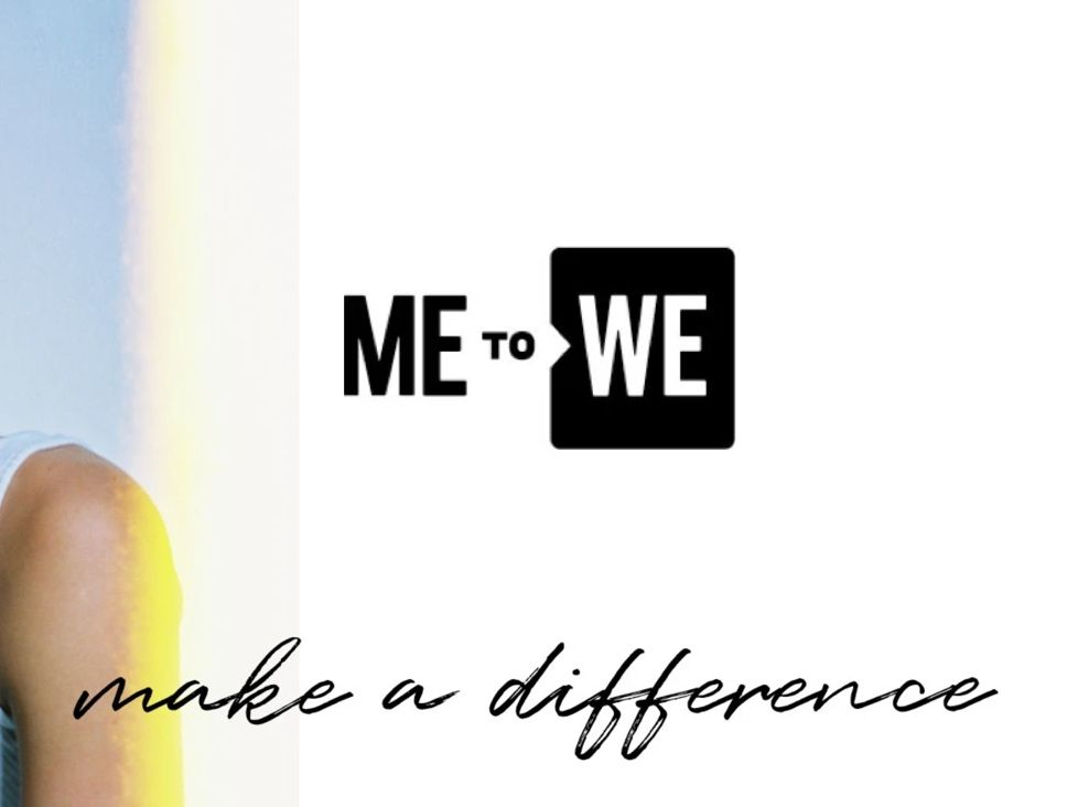 Shop PacSun's Me to We collection and make a difference