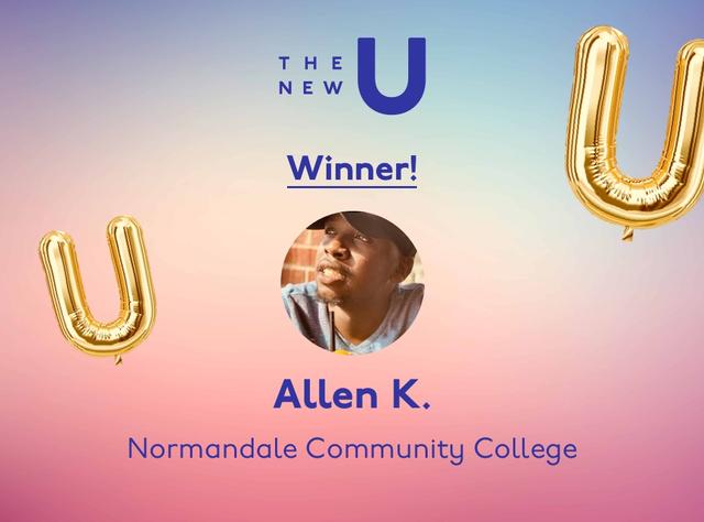 Congratulations to Allen